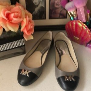 Authentic Michael Kors two toned flats